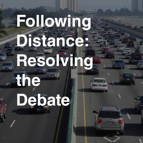 Smith System Following Distance: Resolving the Debate