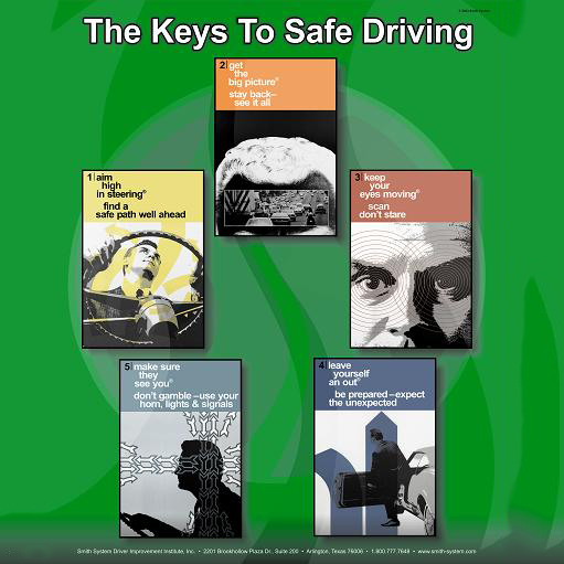 Smith Sytem Safe Driving Poster