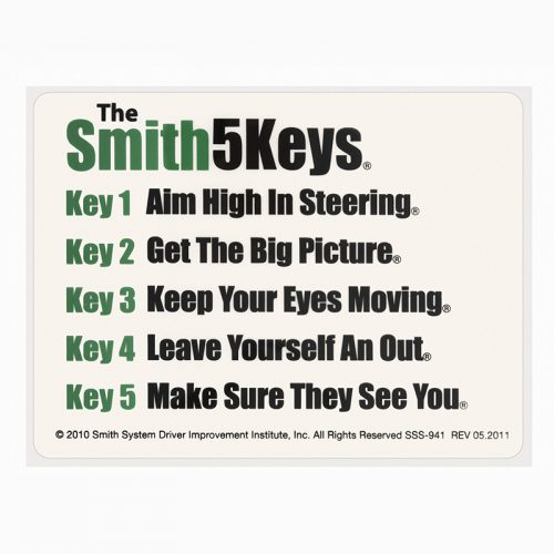 The Smith5Keys® Window Sticker