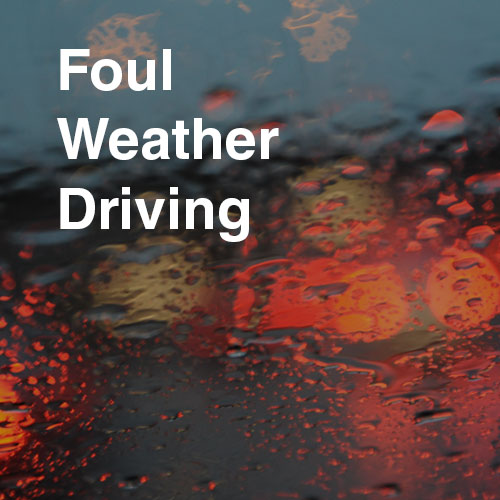 Smith System The Keys To Foul Weather Driving