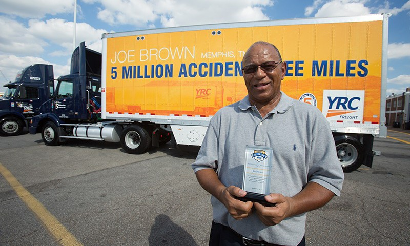 Memphis Trucker Drives 5 Million Miles With No Accidents