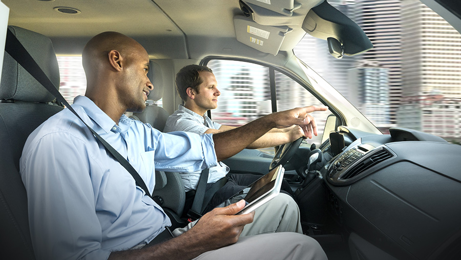 Behind-the-wheel driver safety training for fleets
